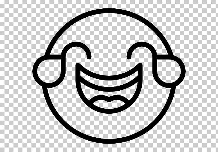 Face With Tears Of Joy Emoji Emoticon Laughter Smiley Computer Icons PNG, Clipart, Area, Black And White, Circle, Computer Icons, Emoji Free PNG Download