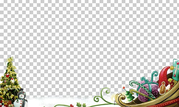 Santa Claus Christmas Tree New Year Beautiful Christmas PNG, Clipart, Border, Christmas Background, Christmas Background Material, Christmas Carol, Christmas Decoration Free PNG Download