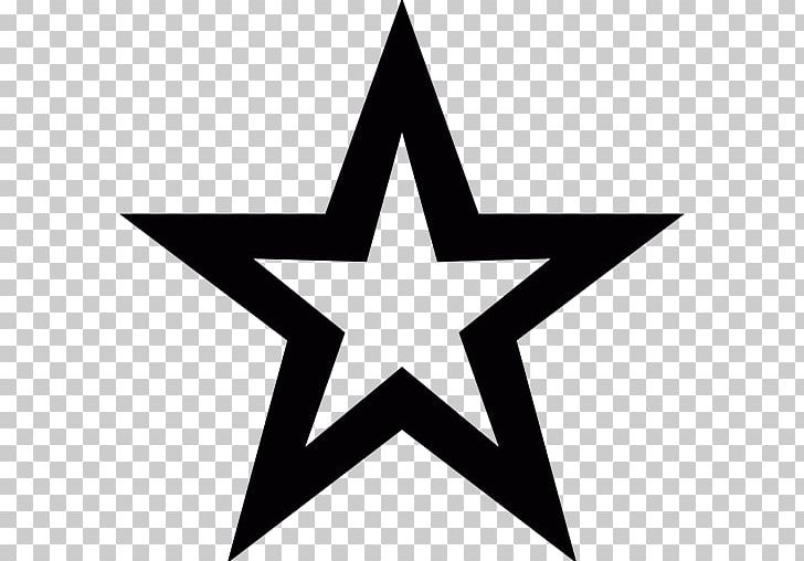 Five-pointed Star PNG, Clipart, Angle, Black, Black And White, Circle, Color Free PNG Download