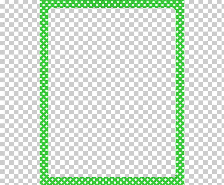 Polka Dot Red Png Clipart Area Blue Green Border Border Frames