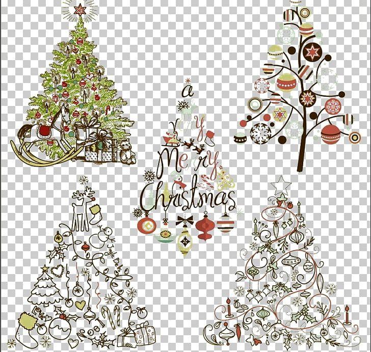 Santa Claus Christmas Tree Christmas