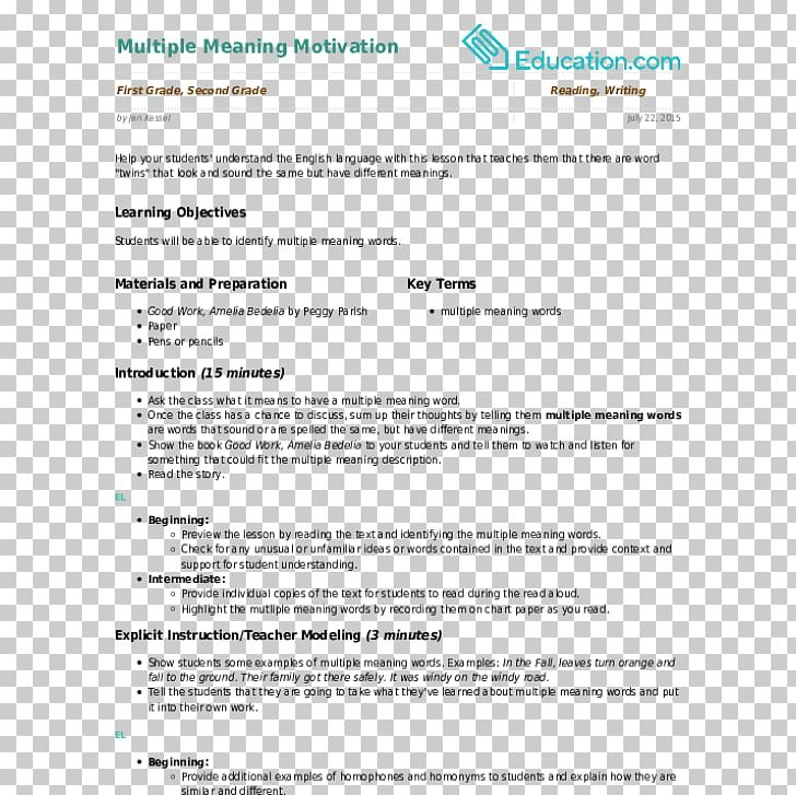 Résumé Lesson Plan First Grade Meaning Education PNG, Clipart, Area