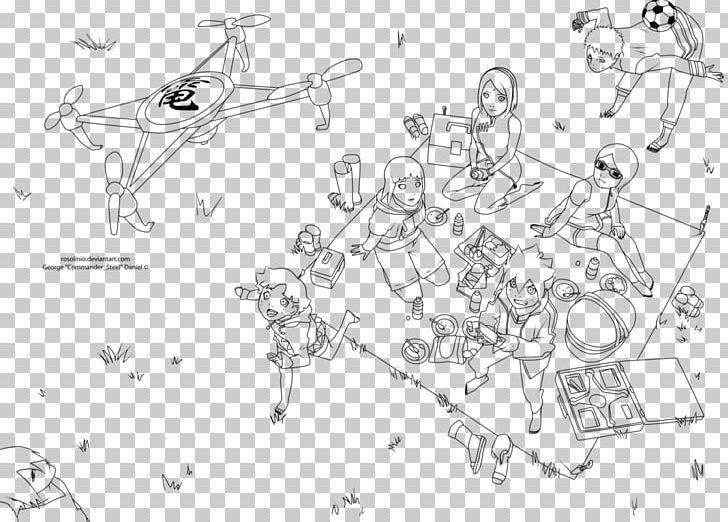 Sasuke Uchiha Naruto Uzumaki Boruto Uzumaki Line Art Sketch PNG