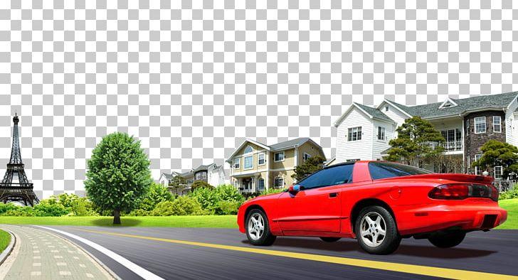 Car Road Png Clipart Advertising Asphalt Building City Car