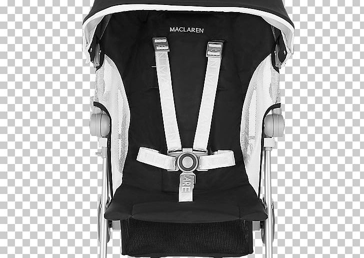 Maclaren Globetrotter Seat Black//White