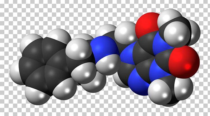 Fenethylline Space-filling Model Drug Levomethamphetamine