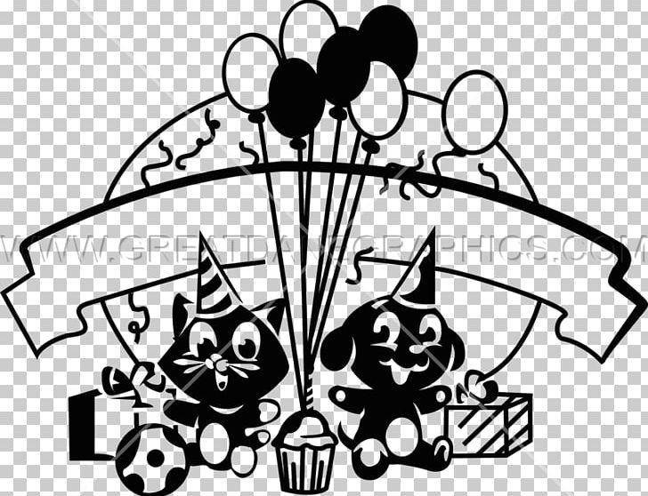 Printed T Shirt Vinyl Cutter Line Art PNG Clipart Artwork Birthday Dog Black