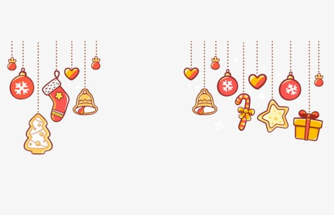 Cartoon Christmas Ornaments Decorated Png Clipart Ball Cartoon