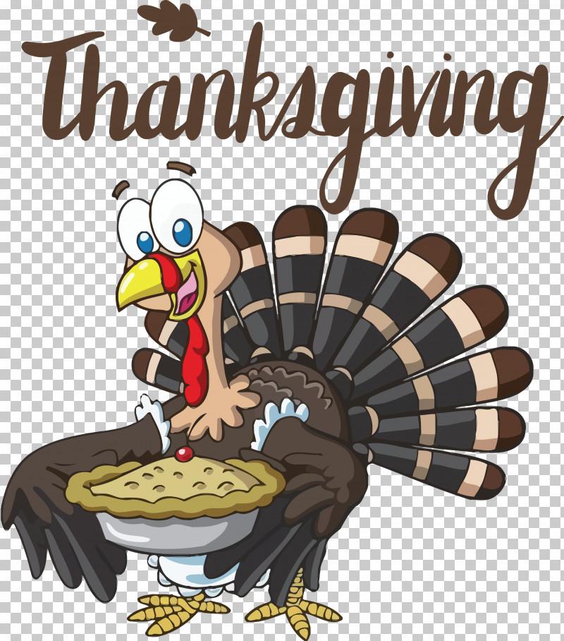 Thanksgiving PNG, Clipart, Cartoon, Chicken, Pie, Pumpkin Pie, Thanksgiving Free PNG Download