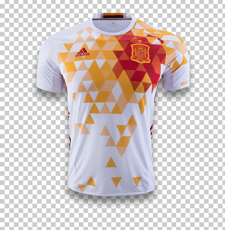 premium selection 78cbd 3f664 T-shirt Spain National Football Team Jersey Adidas PNG ...