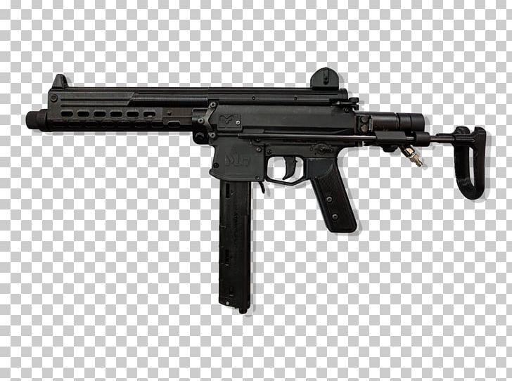 Vz  58 Airsoft Guns Submachine Gun Receiver PNG, Clipart