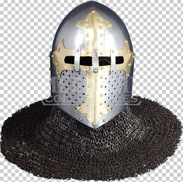 Helmet Crusades Middle Ages Great Helm Bascinet PNG, Clipart