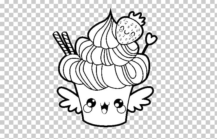 Cupcake Drawing Coloring Book Animaatio Dessin Anime Png Clipart