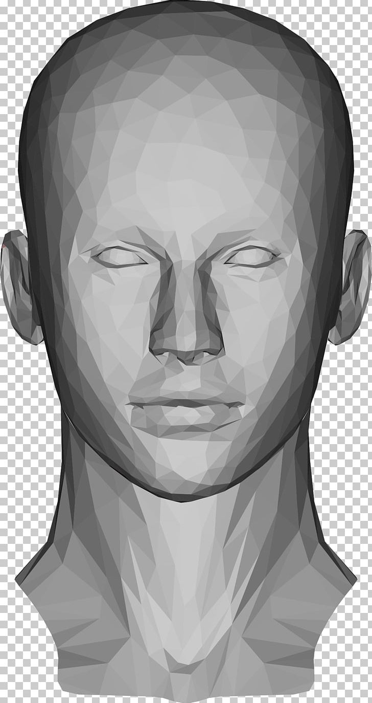 Human Head Low Poly PNG, Clipart, 3d Computer Graphics, 3d Modeling
