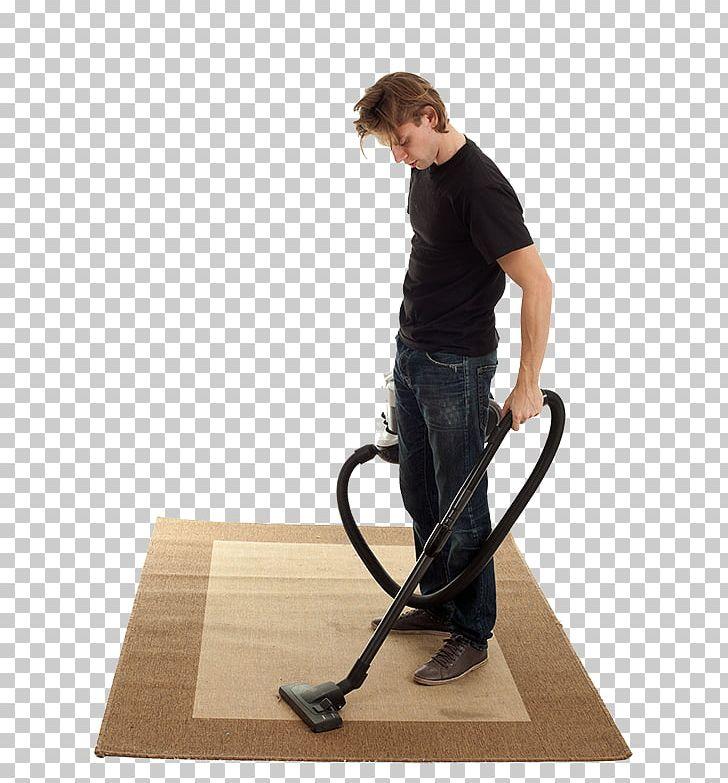 Man Vacuuming Clipart