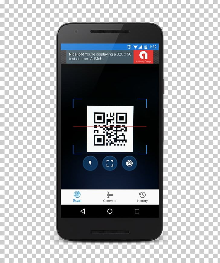 Feature Phone Smartphone Barcode Scanners QR Code PNG
