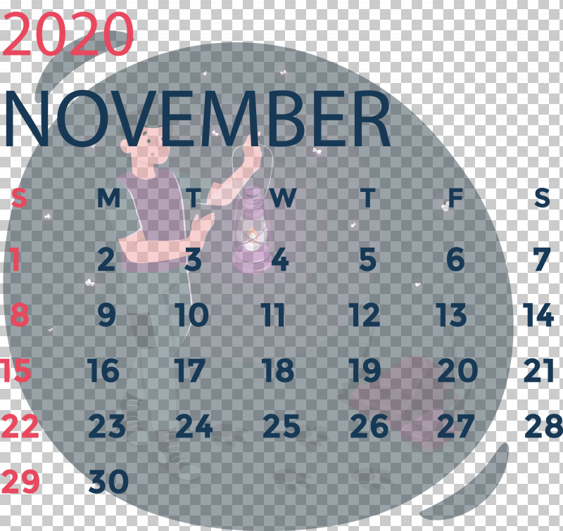 November 2020 Calendar November 2020 Printable Calendar PNG, Clipart, Analytic Trigonometry And Conic Sections, Area, Calendar System, Circle, Clock Free PNG Download