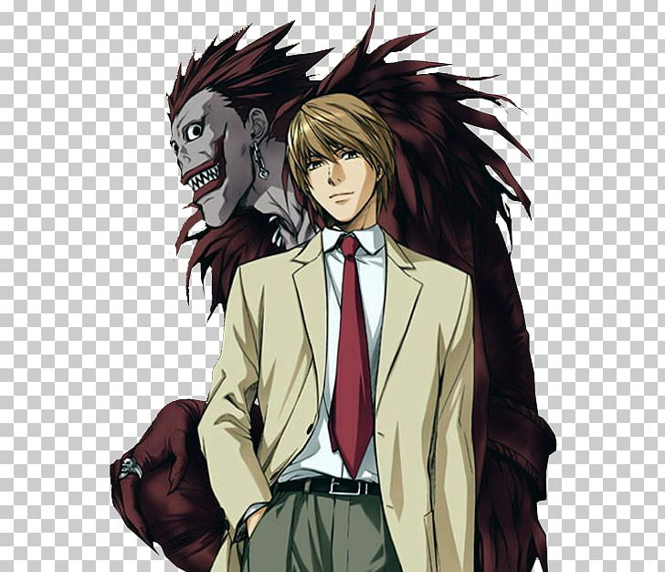 Light Yagami Ryuk Death Note Anime Png Clipart Anime