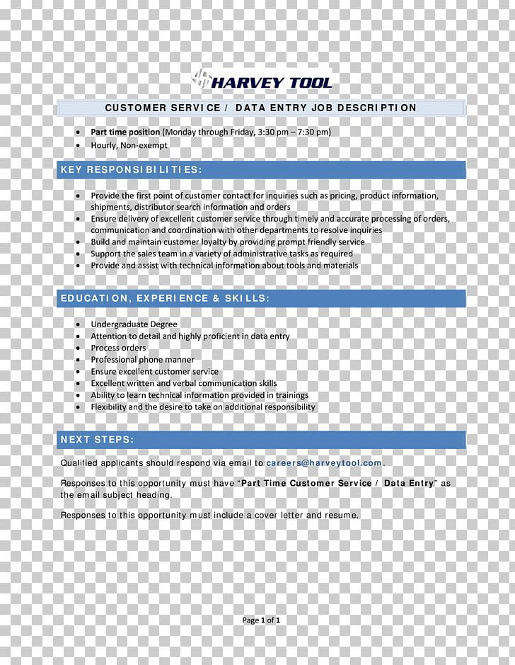 Document Résumé Data Entry Clerk Template Cover Letter PNG ...