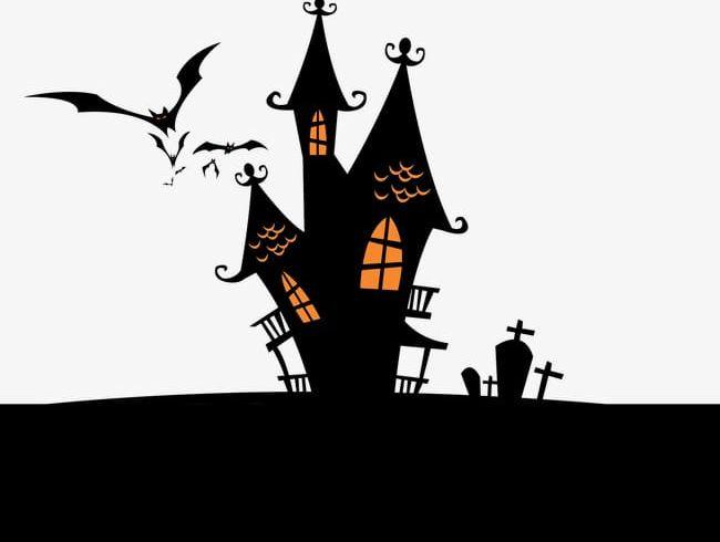 Halloween House PNG, Clipart, Bat, Castle, Halloween, Halloween Clipart, Halloween Clipart Free PNG Download
