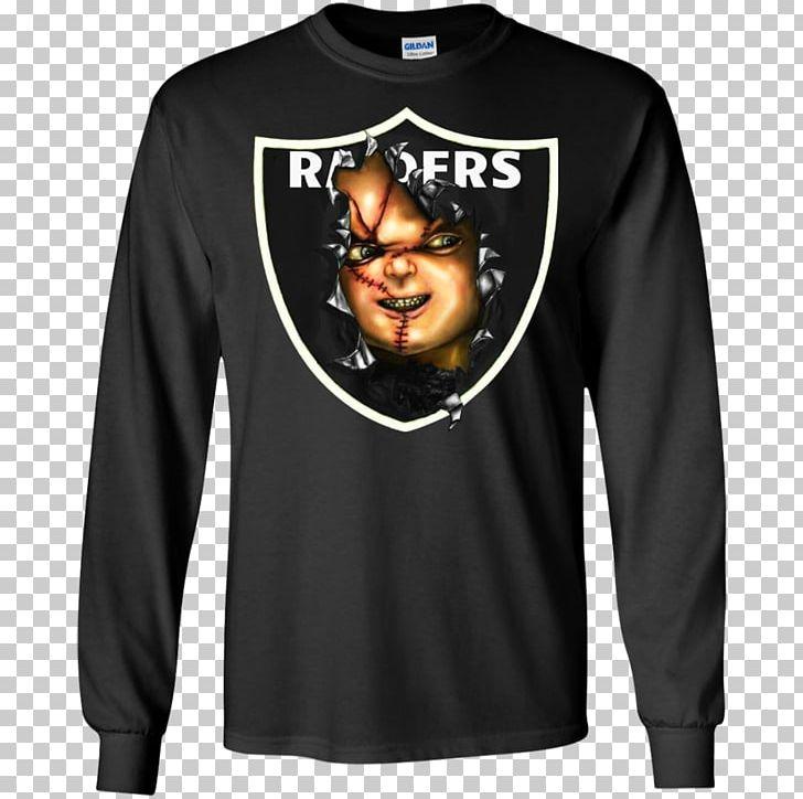 newest a0cbd 772d7 Oakland Raiders Jon Gruden Chucky T-shirt Hoodie PNG ...