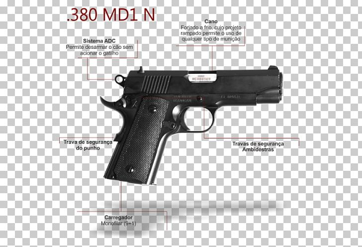 380 ACP IMBEL MD1 Pistola IMBEL 9mm PNG, Clipart, 380 Acp