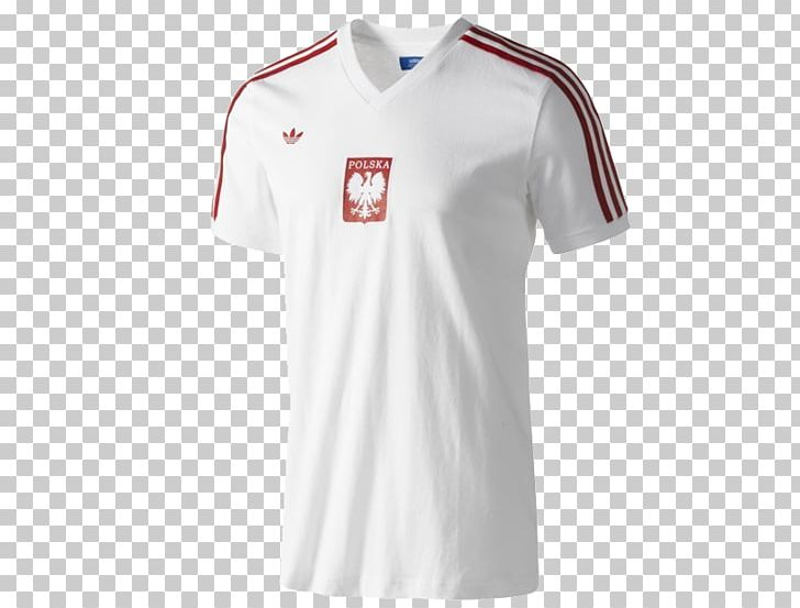 super popular 3f6c9 9ad27 T-shirt Poland National Football Team Sports Fan Jersey ...