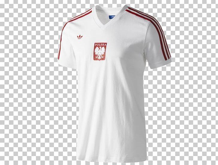 super popular d8cb6 2ba2e T-shirt Poland National Football Team Sports Fan Jersey ...
