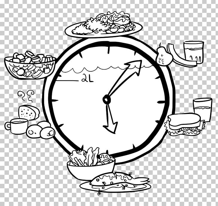 Water Clock Drawing Time Clipart 4 P Area Art Artwork