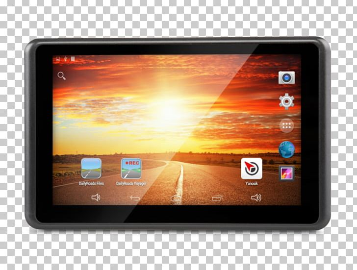 Tablet Computers Yanosik Car Navigation Global Positioning