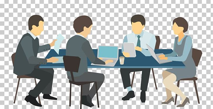Meeting Desk Illustration PNG, Clipart, Business, Business Card, Business Man, Business Woman, Cartoon Free PNG Download