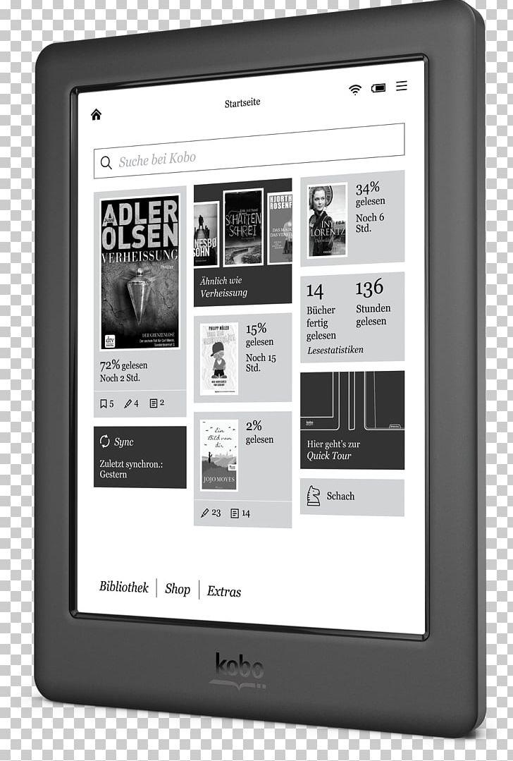 Kobo Glo Kobo Touch Kobo Aura HD E-Readers PNG, Clipart