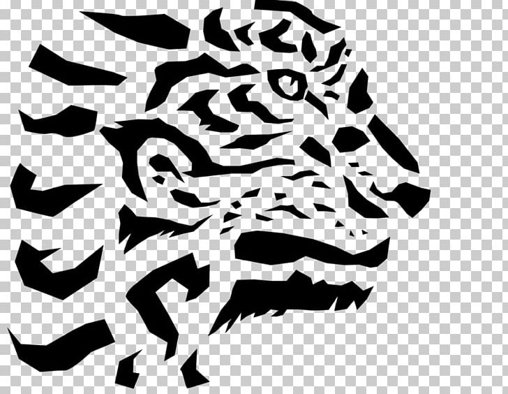Tiger Line Art Cartoon PNG, Clipart, Animals, Art, Big Cats, Black, Black And White Free PNG Download