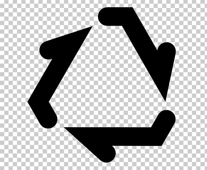 Recycling Symbol High-density Polyethylene Resin