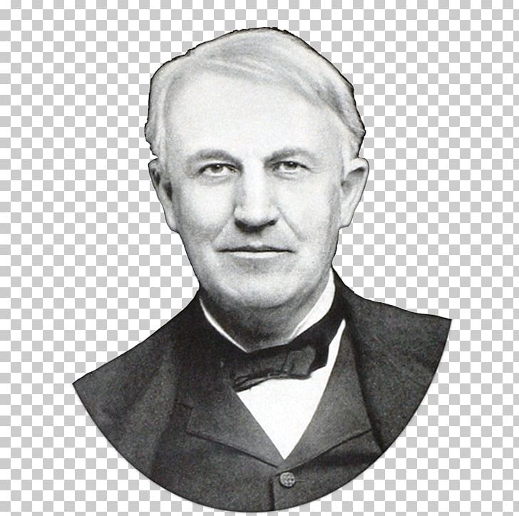 Thomas Edison Invention Inventor Lamp Png Clipart Black And White