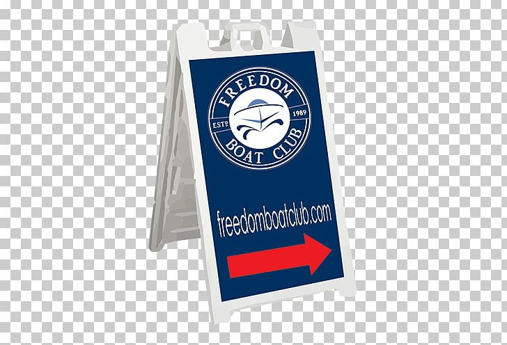 Signage Freedom Boat Club Product Graphics Cobalt Blue PNG, Clipart