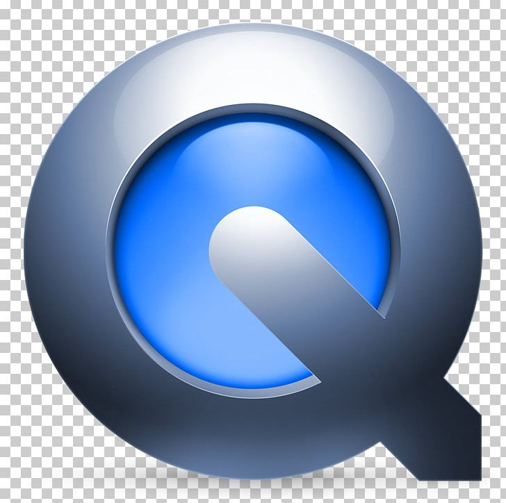 QuickTime X Media Player MacOS Mac OS X Leopard PNG, Clipart, Blue