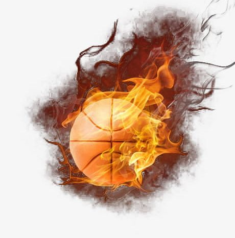 Basketball Flame PNG, Clipart, Basketball, Basketball Clipart, Combustion, Creative, Creative Design Free PNG Download