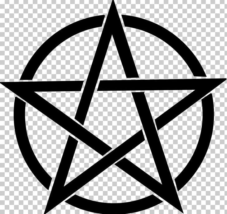 Pentagram Pentacle Wicca PNG, Clipart, Angle, Black And White, Circle, Download, Drawing Free PNG Download