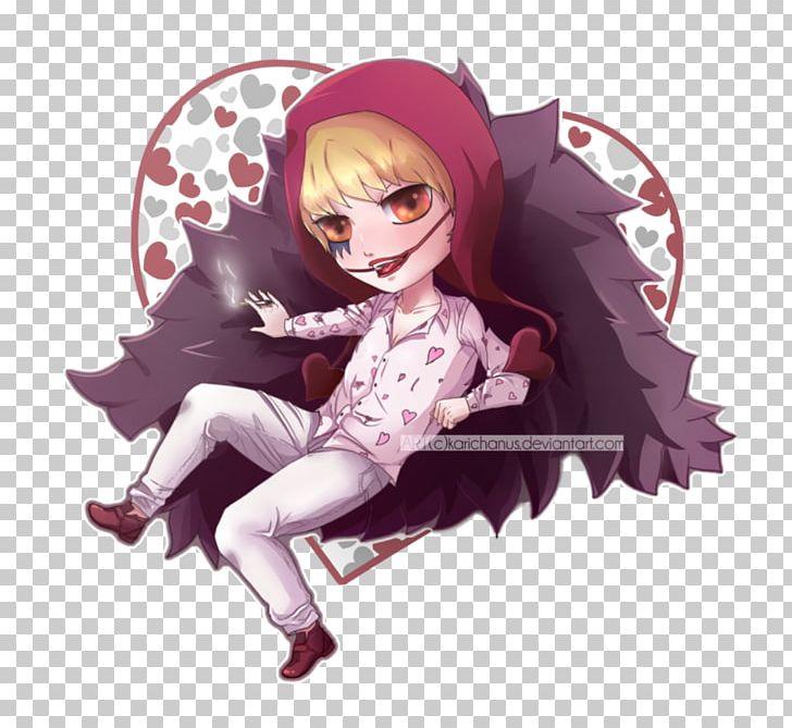 Donquixote Doflamingo One Piece Anime Chibi Png Clipart