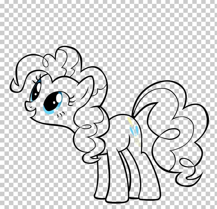 My Little Pony Pinkie Pie Rainbow Dash Coloring Book PNG, Clipart, Animal  Figure, Black, Cartoon, Child,