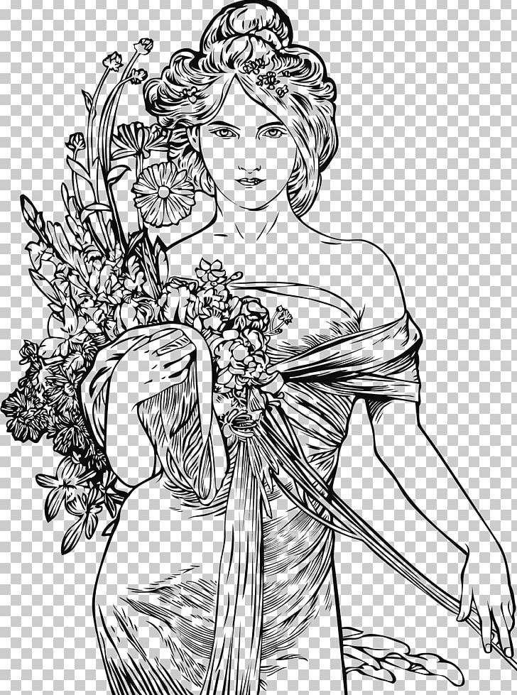 - Alphonse Mucha's Art Nouveau: A Vintage Coloring Book PNG, Clipart, Amedeo  Modigliani, Arm, Fashion Design, Fashion