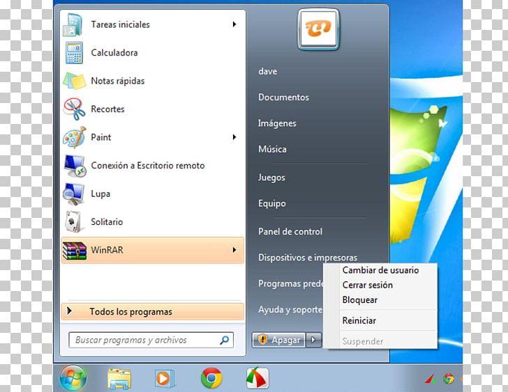 Computer Program Start Menu Windows 7 Windows Key Desktop
