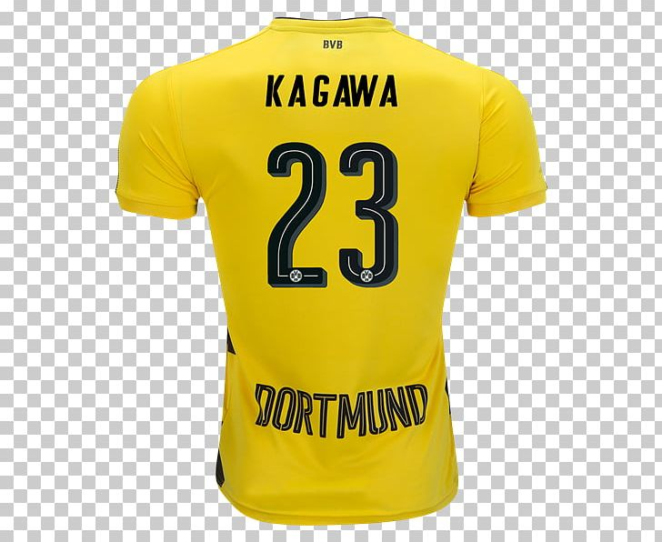 Borussia Dortmund T-shirt Sports Fan Jersey Football PNG, Clipart, Active Shirt, Borussia, Borussia Dortmund, Brand, Christian Pulisic Free PNG Download