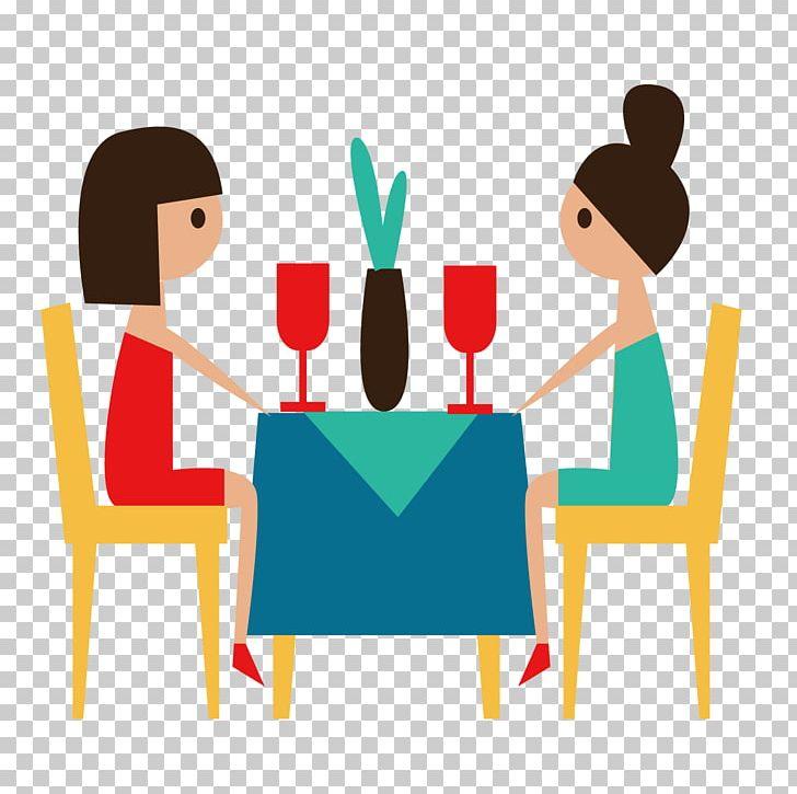Hotel Restaurant Illustration PNG, Clipart, Area, Art, Cartoon, Communication, Conversation Free PNG Download