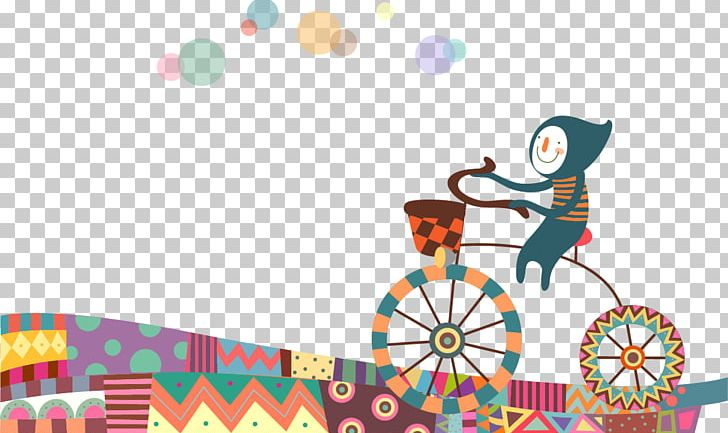 Cartoon Cycling Bicycle PNG, Clipart, Adobe Illustrator, Animation, Area, Art, Bicycle Free PNG Download