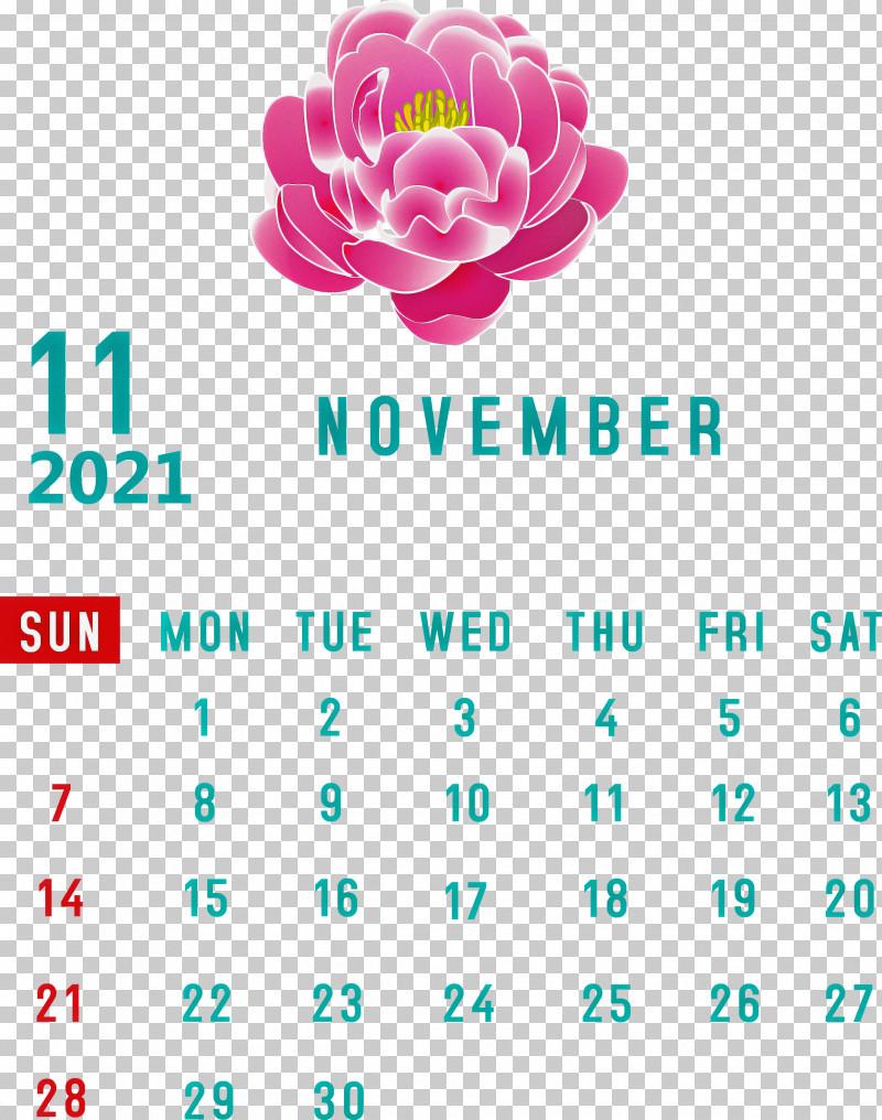 November 2021 Calendar November 2021 Printable Calendar PNG, Clipart, Biology, Cut Flowers, Flower, Geometry, Line Free PNG Download