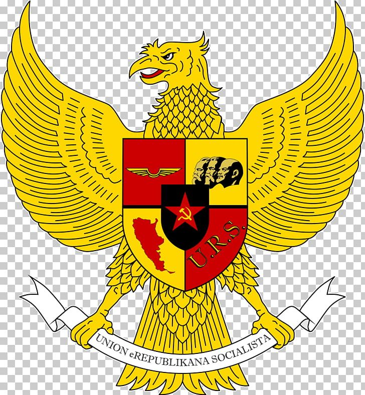 National Emblem Of Indonesia Pancasila Garuda Symbol Png Clipart