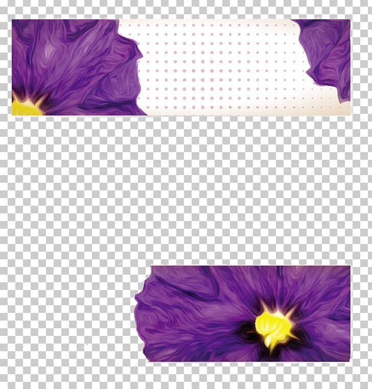 Petal Violet Banner Flower PNG, Clipart, Banner, Blue, Euclidean Vector, Flower, Label Free PNG Download