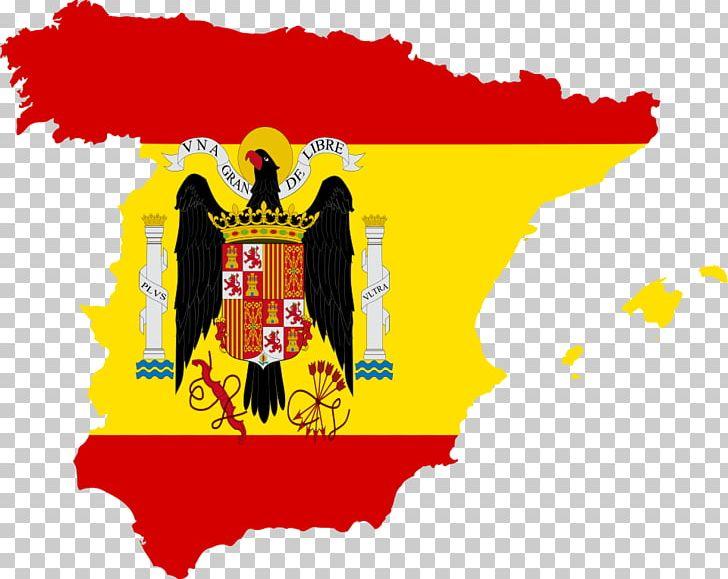 Francoist Spain Spanish Civil War Flag Of Spain Png Clipart Art